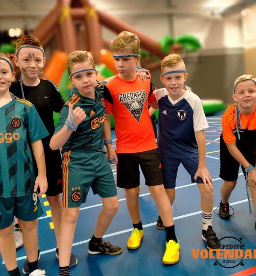 Expeditie Robinson Kid Village Volendam, Sportcentrum B-Active